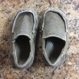 Crocs canvas shoes toddler 6